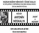 Režisér Antonín Moskalyk - známý a neznámý 1